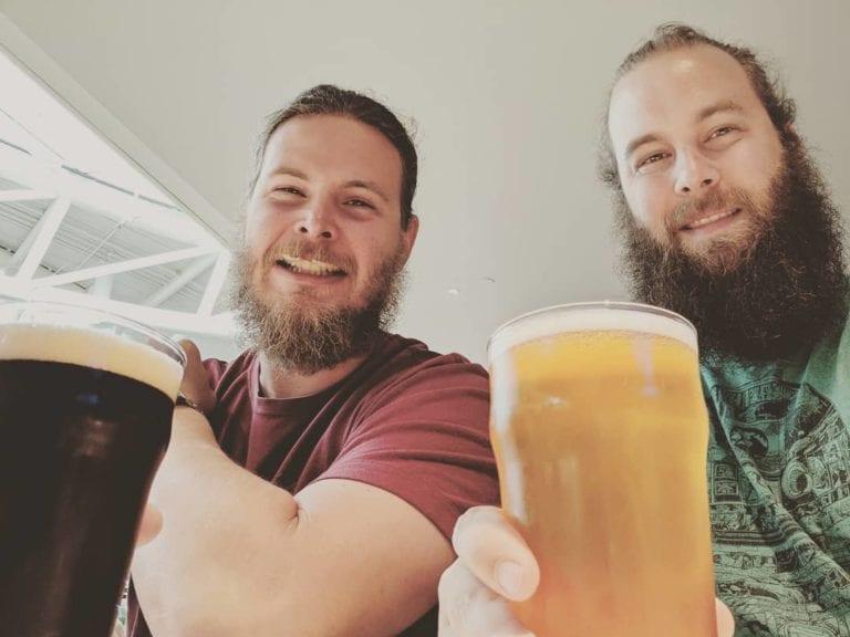 dees brothers brewery selfie portrait